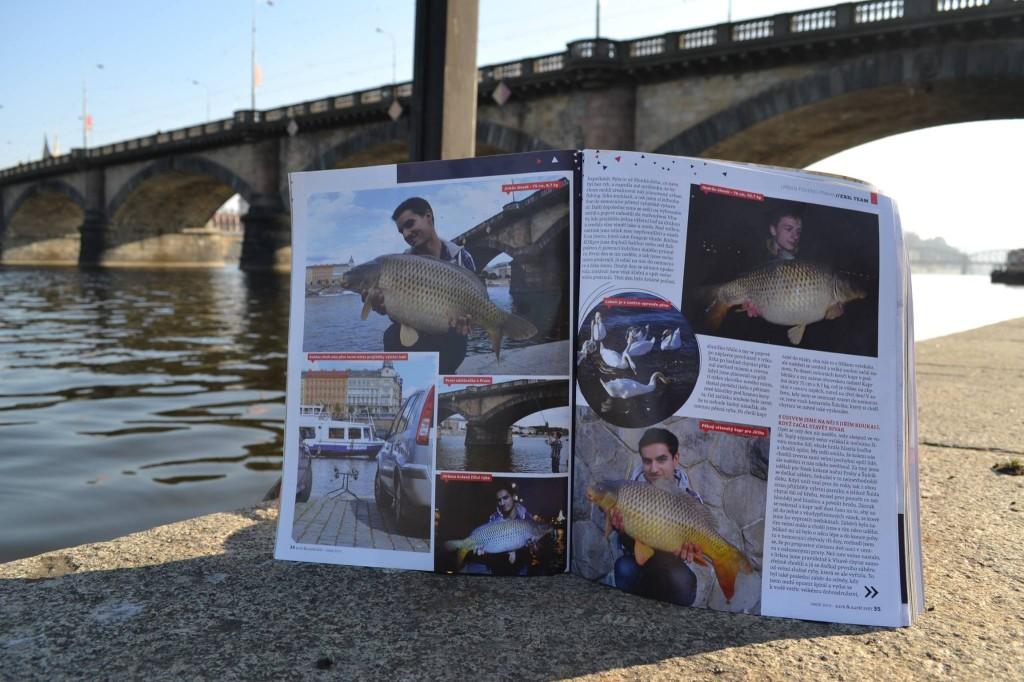 Článek Urban fishing Praha