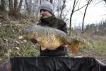 Ondry březnové zahájení na řece 87cm 15,1kg